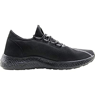 BenSorts Mens Sneakers Comfortable Breathable Running Shoes Mesh Slip On Casual Shoes for Walking Jogging | Fashion Sneakers