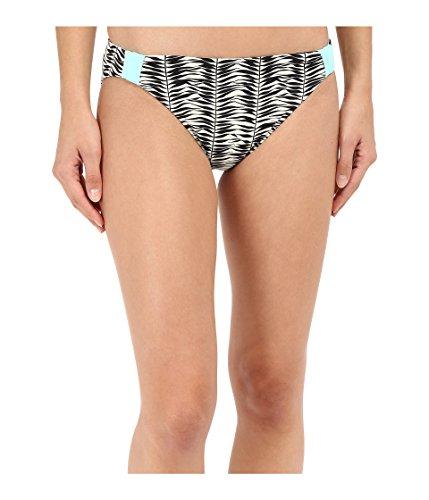 Roxy Women's Reversible 70's Bikini Bottom , Animal Kona X Combo Seaspray, - 70's Bottom Swimwear Roxy