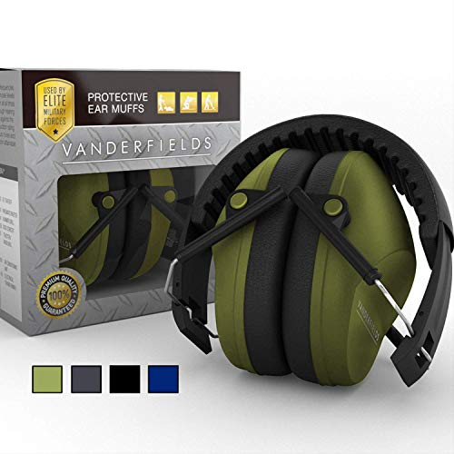 dee2e652776 Ear Protection for Shooting – Compact Foldable Portable Hearing Protection  Safety Earmuffs for Blocking Sound Reduction