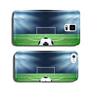 soccer field and the bright lights cell phone cover case Samsung S6