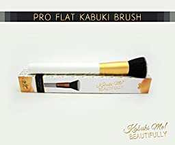 ULTIMATE Flat Top Kabuki Brush on Amazon From Be You, BEAUTIFULLY. Professional Makeup Artist Approved. Perfect for Blending Liquid, Cream, Mineral Cosmetics and Translucent Powder.