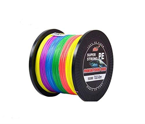 YUDELI [329Yards/547Yards/1049Yards 100% PE Super Dyneema Braided Fishing Line 10LB-110LB Test Multi-Colors Avaliable