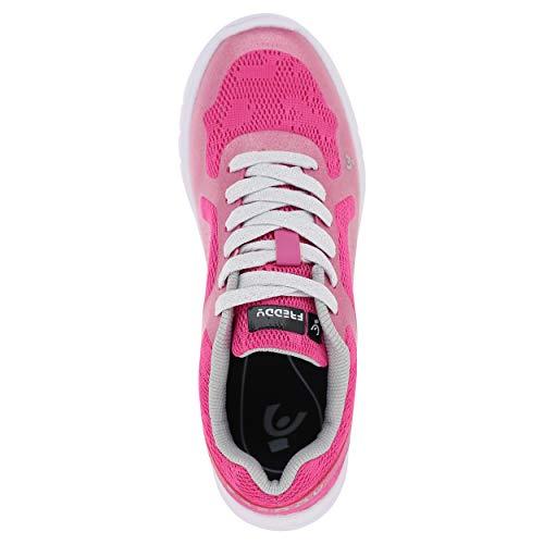 Fuschia De Couture En Freddy Sans Chaussures Maille Sport Empeigne Purelite À Lacets Avec 7qS6qP