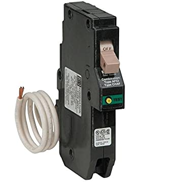 CH115caf New CH Cutler Hammer Combination AFCI Arc Fault Breaker 1 Pole 15 Amp
