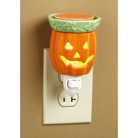 Jack-o-lantern Wax Melter Tart Warmer Nightlight Pumpkin Fall Halloween Decor by Darice