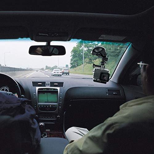 laonBonnie Auto-Saugnapfhalterung Halterung f/ür Gopro Hero 1 2 3 4 Action-Kamera