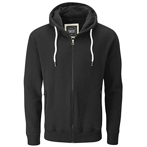 Charles Wilson Men's Full Zip Heavyweight Hoody