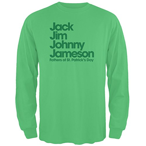Father Long Sleeve T-shirt (St. Patricks Day - The Four Fathers St. Patrick's Day Irish Long Sleeve T-Shirt - 2X-Large)