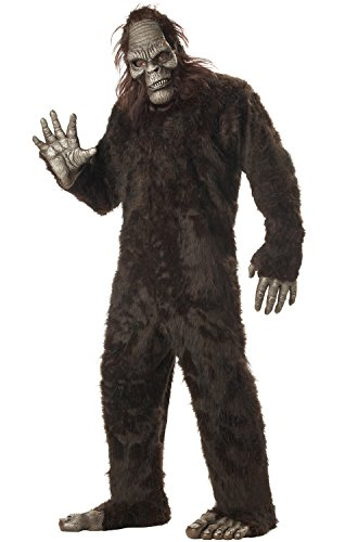 Men Costumes For Halloween (California Costumes Men's Big Foot,Dark Brown,One Size Costume)