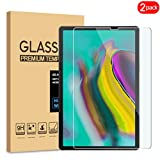[2 Pack] Samsung Galaxy Tab S5e Screen Protector, KATIAN HD Clear [Anti-Scratch] [No-Bubble], 9H Hardness Tempered Glass Samsung Galaxy Tab S5e (SM-T720)(Wi-Fi);SM-T725(LTE)