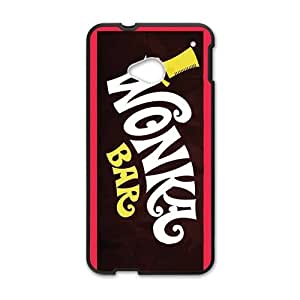 Happy Lovely cartoon Wonka Bar Cell Phone Case for HTC One M7
