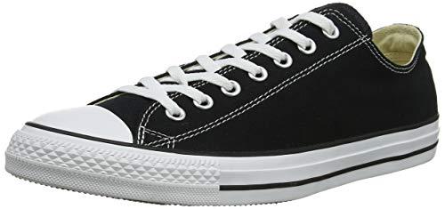 Converse Unisex Chuck Taylor All Star Low Top Black Sneakers - 9.5 B(M) US Women / 7.5 D(M) US Men (Converse Woman Taylor)