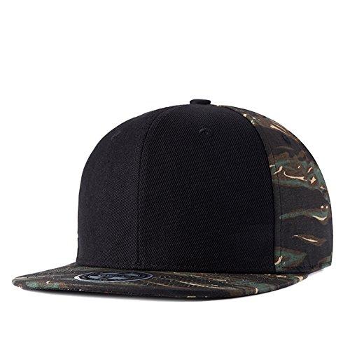 Green Camouflage Cap Adjustable Baseball Hat Visor For Men Women