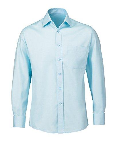 Alexandra pflegeleichte stc-nm164tl-16.5Herren Twill Shirt, Uni, 75% Baumwolle/25% Polyester, Größe: 16,5, Blaugrün