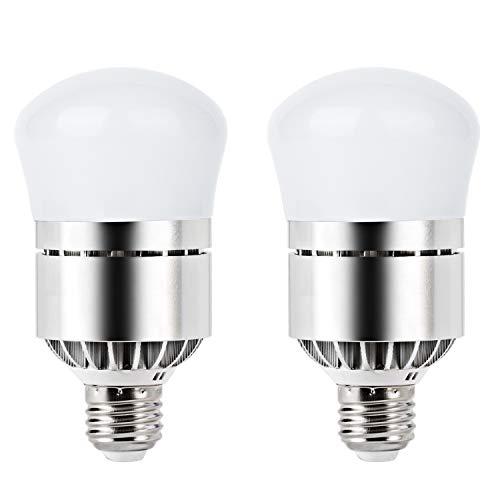 Dusk Till Dawn Light Bulb 100 Watt Equivalent 12W Smart Bulb Dusk to Dawn LED Photo Sensor Bulbs E26 Base Soft White 3200K Outdoor Indoor Lighting Lamp Auto On/Off (Warm - Standard Lamp Bulb Screw