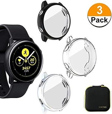 Amazon.com: LLGLTOMO [3-Pack] Smartwatch Case Compatible con ...
