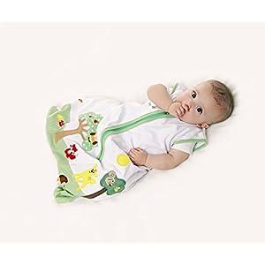 SlumberSafe Baby Summer Sleeping Bag 1 Tog Forest Friends 6-18 months MEDIUM
