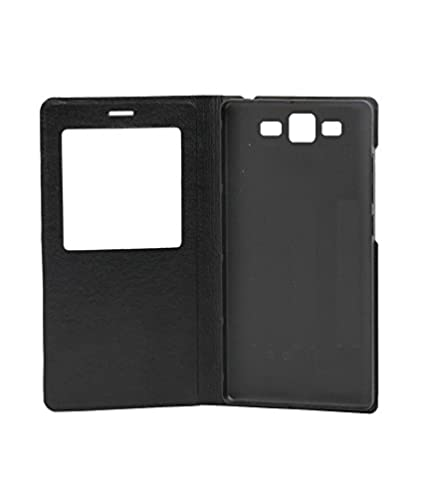 05661ec9ed070 Premium Caller ID Flip Cover for Samsung Galaxy J2 Black available at Amazon  for Rs.