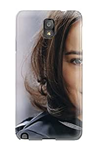 Durable Case For The Galaxy Note 3- Eco-friendly Retail Packaging(alizee Celebrity )