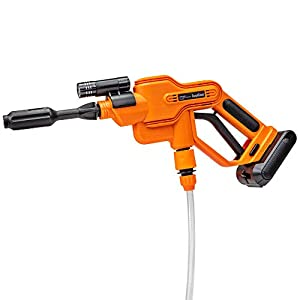 Ivation Cordless Portable Power Washer 290 PSI Pressure Cleaner, 2500mAh Battery Powered Sprayer Gun with 16.4' Water…