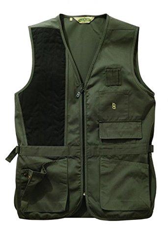 Bob-Allen 30189 240S Shooting Vest, Left Handed, Sage, 4X