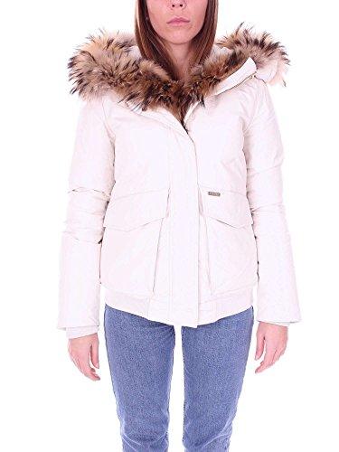 Blanc Polyester Blouson Femme Woolrich Wwcps2477sm208254 xqpwBXSfU