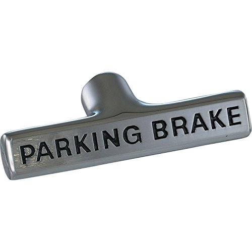 (Eckler's Premier Quality Products 25261539 Corvette Parking Brake Handle Black Letters)