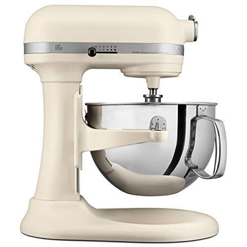 KITCHENAID KP26M1XFL Professional 600 Stand Mixers, 6 quart, Matte Fresh Linen