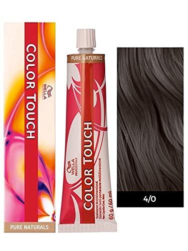 Wella Color Touch 4/0 (Medium Brown/Natural) - Natural 4/0