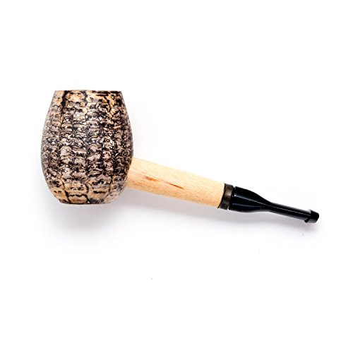 Smoke Corn Cob Pipe (Missouri Meerschaum Little Devil Cutty Corncob Tobacco Pipe for Smoking and Novelty)
