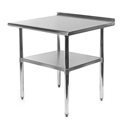 Svitlife Stainless Steel Top Utility Table High Top Workbench Prep Table  Table Kitchen Stainless Steel Restaurant