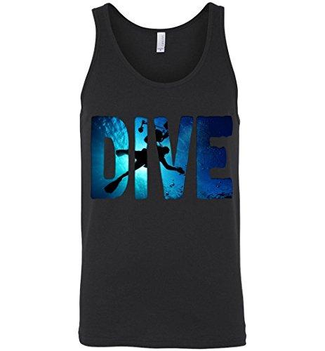 Robust Creative Scuba Diver Scuba Diving Underwater Freedive Black Tank ()