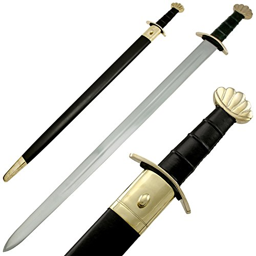 RED DEER Viking Style Battle Ready Sword Blade 40 Inches