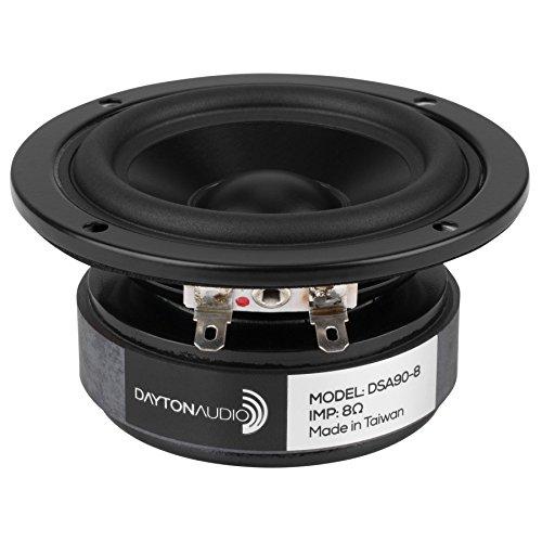 Dayton Audio DSA90-8 3'' Designer Series Aluminum Cone Full-Range Driver 8 Ohm by Dayton Audio