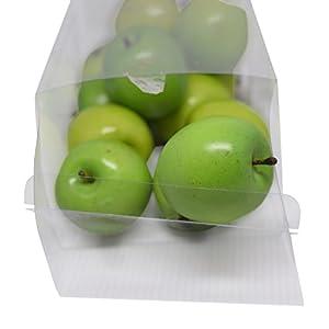 Florabunda 12-Piece Mini Decorative Fruit, Green Apple 2