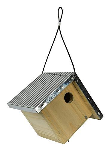 Nature's Way Bird Products 066570 Wwgh1 Galvanized Weathered Cedar Wren House