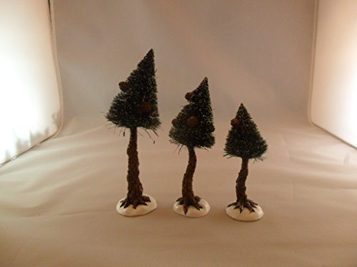 Dept. 56 North Pole Woods Pinewood Trees, Small by Village Accessory (Image #2)