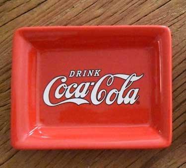 (youngs Inc Ceramic Coca Cola Red Dish, Multi)