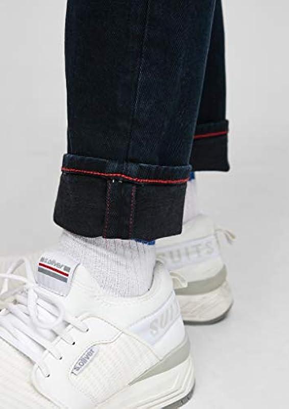 s.Oliver męskie spodnie slim fit: spodnie jeansowe zwężane: s.Oliver: Odzież