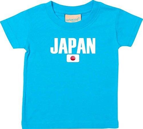 Shirtstown Bebé Niños Camiseta Fútbol Camiseta de País Japan: Amazon.es: Ropa y accesorios