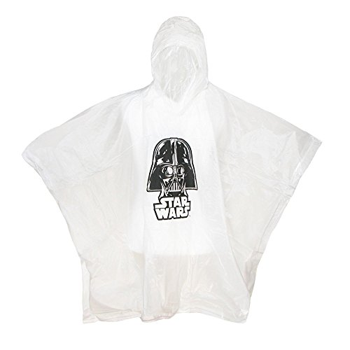 Star Wars Darth Vader Hooded Rain Poncho