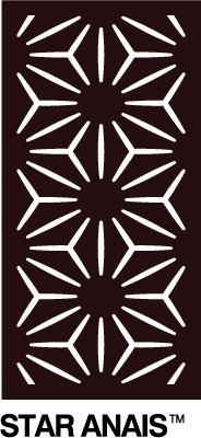 OUTDECO Star Anais Decorative Panel - 24 in. x 48 in. x 5/16 in. by OUTDECO