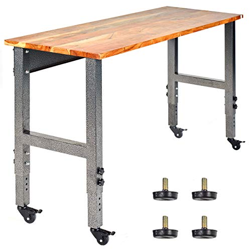 """Mobile Garage Workbench w/Casters 