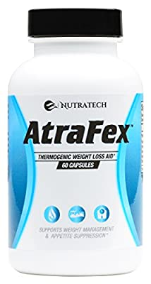 Atrafex - The Most Powerfully Effective, Fast-Acting, and Best Thermogenic Fat Burner & Appetite Suppressant Available Anywhere Or Your Money Back! 60 Count Diet Pills