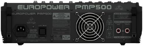 Behringer PMP500 - Mezclador autoamplificado: Amazon.es ...