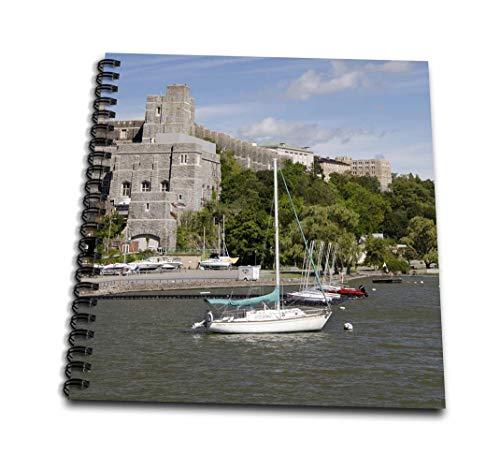3dRose db _ 190234_ 1Nueva York, West Point Academy Militar del ejército Collage, Hudson River libro de dibujo, 20.3x...