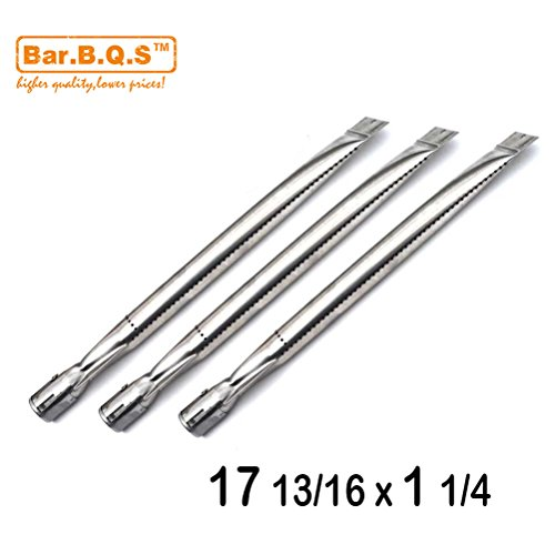 Bar.b.q.s 15201 3pack Replacement Straight Stainless Steel Pipe Tube Burner for Perfect Flame E3520, E3520-LPG/NG Gas Grill Model