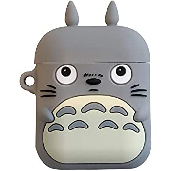 Amazon.com: Logee Totoro Cat Case for Apple Airpods 1 & 2