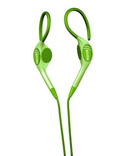 Maxell 190564 EH-130G Stereo Ear Hooks, Green