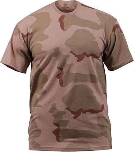 BlackC Sport Camo T-Shirt Tri-Color Desert Camo Military